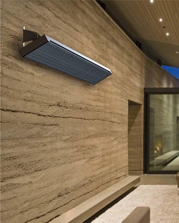 1800w Radiant Patio Heater Slimline Outdoor Strip Heaters