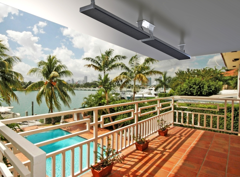 The Zeus Radiant Patio Heater Is Modern Stylish One Of Best Looking Outdoor Panel Heaters Available